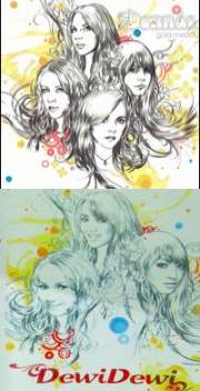 cover dewi2 vs the donnas